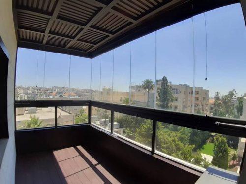 Balcony glazing - Uninsulated balcony glazing TA 08-10 - MR Profiil