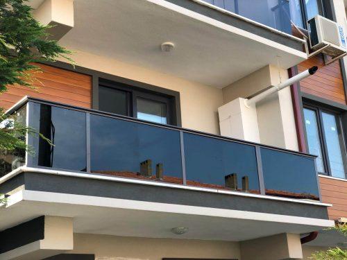 Balcony railings - Thermally insulated balcony railing system B-MAX - MR Profiil