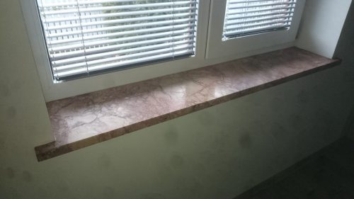 Completed work - Window sills - MR Profiil