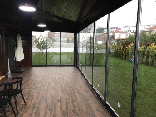 Terrace glazing - MR Profiil