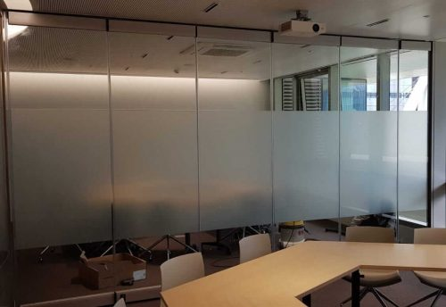 Foldable and transition walls 1 - MR Profiil